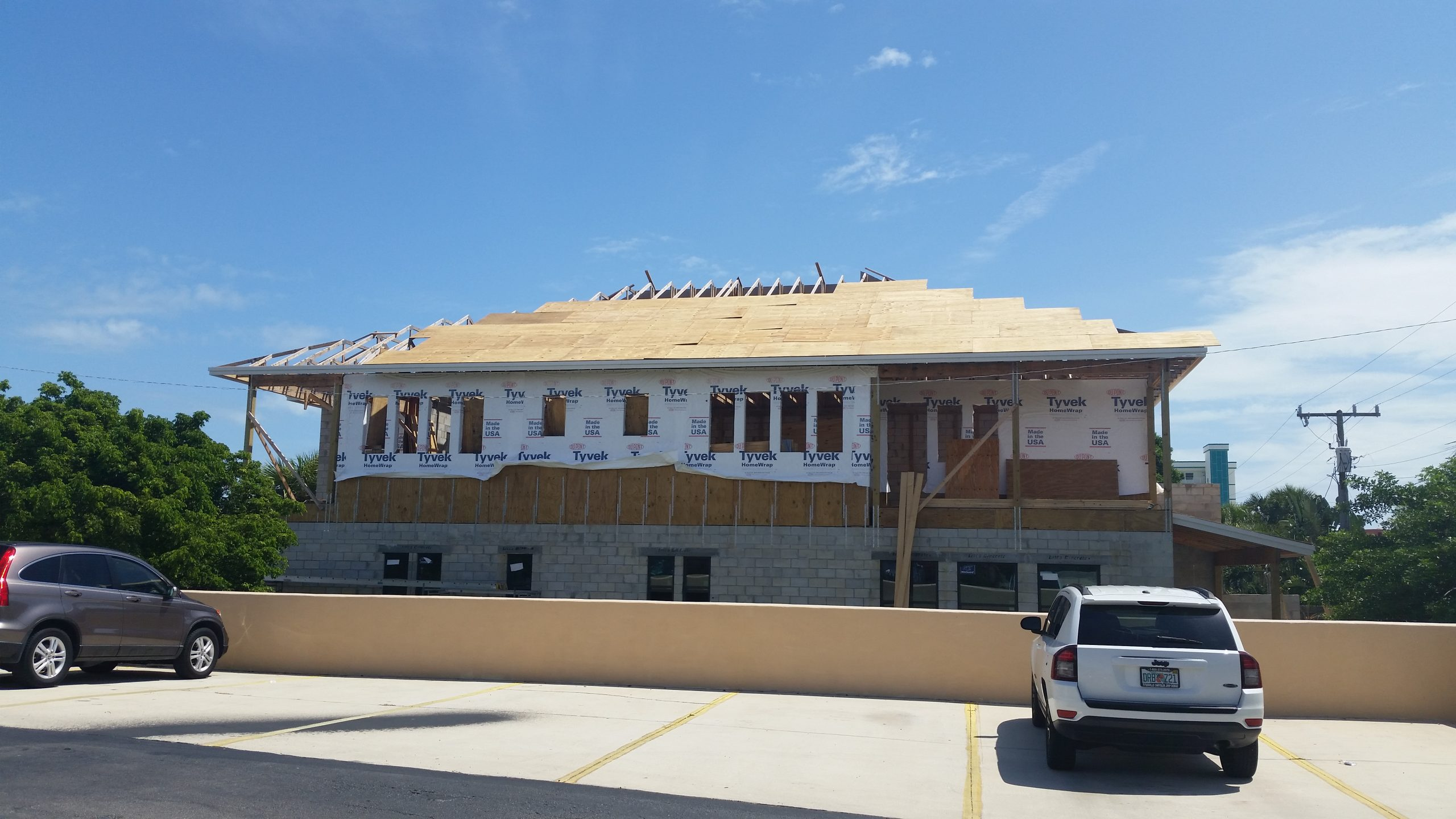 8-roof sheath comp 90 percent